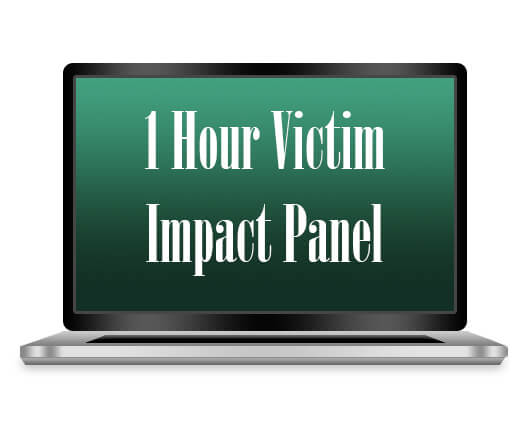 1 hour victim impact panel for dui offenders